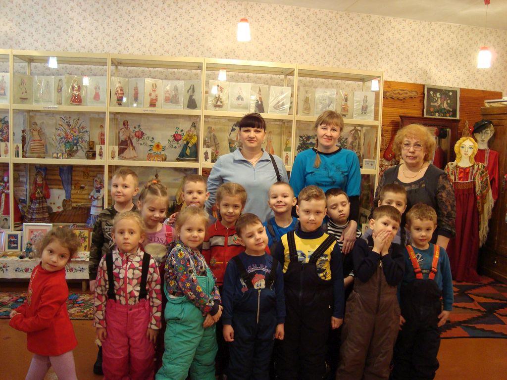 Воспитанники детских садов №154 и №160